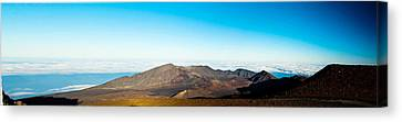 Canvas Print featuring the photograph Haleakala by Cathy Donohoue