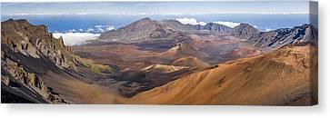 Volcano Rock Canvas Print - Haleakala Crater Hawaii by Francesco Emanuele Carucci