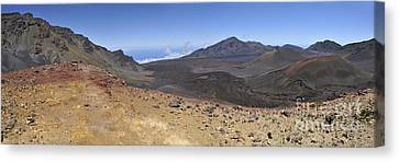 Haleakala Crater Canvas Print by Sami Sarkis