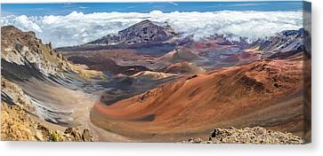Haleakala Volcano On Maui Hawaii Canvas Print by Pierre Leclerc Photography