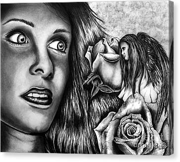 Haleys Apparition Canvas Print