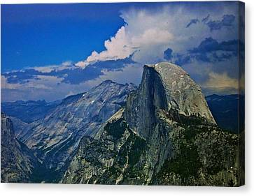 Half Dome From Glacier Point Canvas Print by Eric Tressler
