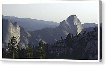 Half Dome From Olmsted Pt Canvas Print