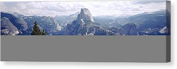 Half Dome High Sierras Yosemite Canvas Print by Panoramic Images