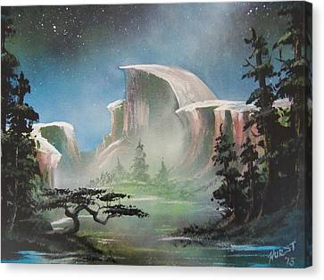 Half Dome Canvas Print by Jim Hurst