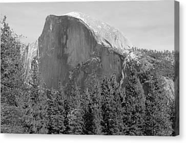 Half Dome Yosemite Canvas Print by Heidi Smith