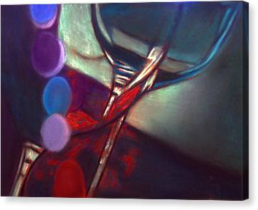 Half Price Wine Night Canvas Print by D Rogale