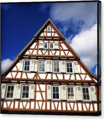 Half-timbered House 03 Canvas Print by Matthias Hauser