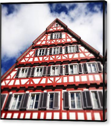 Half-timbered House 06 Canvas Print by Matthias Hauser