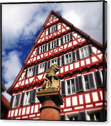 Half-timbered House 07 Canvas Print by Matthias Hauser