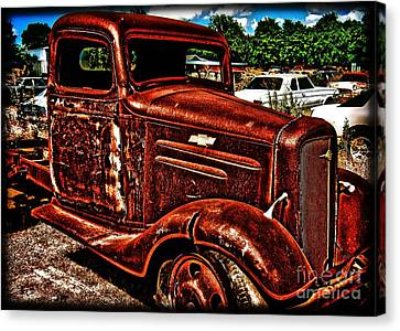 Half Ton Chevy - No.0243h Canvas Print by Joe Finney