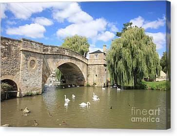 Halfpenny Bridge Canvas Print - Halfpenny Bridge by Paul Felix