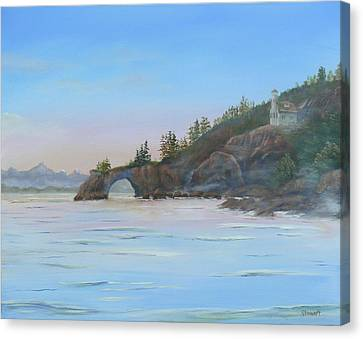 Halibut Cove Canvas Print