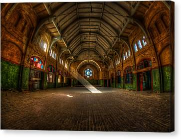 Hall Beam Canvas Print
