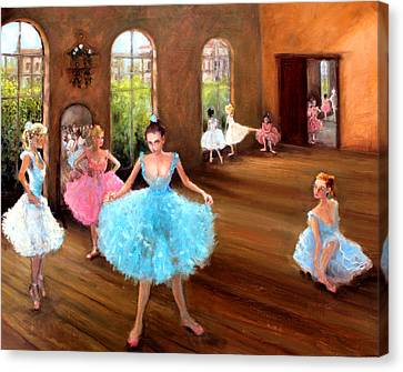 Hall Of Dance Canvas Print by Graham Keith
