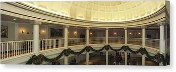 Hall Of Presidents Walt Disney World Panorama Canvas Print by Thomas Woolworth