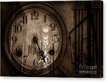 Hall Of Time Canvas Print by Pam Vick