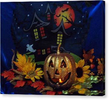 Halloween 2014 Canvas Print by Rosalie Klidies