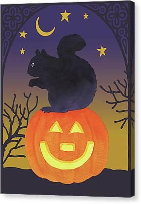 Halloween Critter Iv Canvas Print