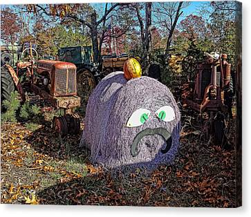 Halloween Junk Canvas Print