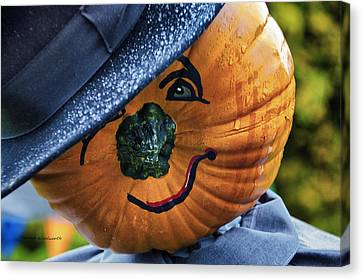 Halloween Pumpkin 02 Canvas Print by Thomas Woolworth
