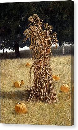 Halloween Canvas Print by Tom Wooldridge