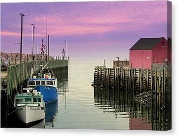 Halls Harbour Evening Canvas Print