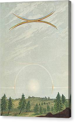Halo Canvas Print by King's College London