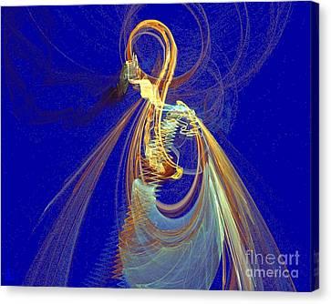 Halo Spirit Canvas Print by Jeanne Liander