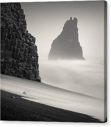 Halsenifs Hellir Sea Stack Canvas Print