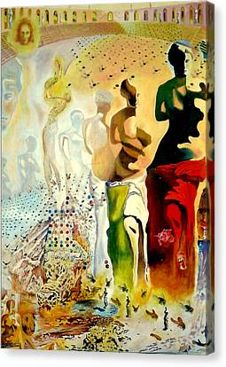 Halucinogenic Toreador By Salvador Dali Canvas Print by Henryk Gorecki