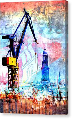 Canvas Print - Hamburg - Meine Perle by Marc Huebner