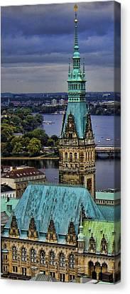 Hamburg - The Gargoyle's View Canvas Print