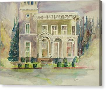 Hamden House Canvas Print