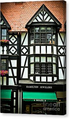 Hamilton Jewelers - Princeton  Canvas Print by Colleen Kammerer
