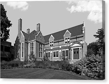 Hamline University Giddens Alumni Center Canvas Print by University Icons