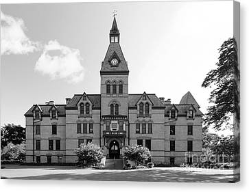 Hamline University Old Main Canvas Print by University Icons