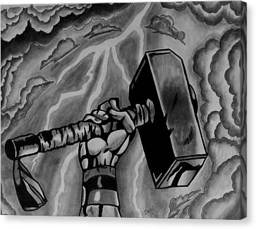 Hammer Of Thor Canvas Print by Jeremy Moore