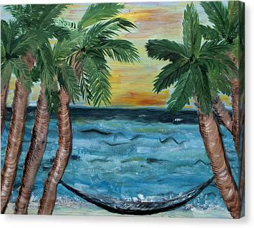 Hammock Dreams Canvas Print