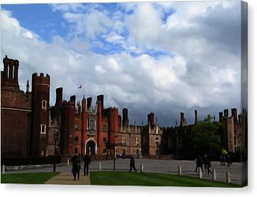 Hampton Court Canvas Print by Jenny Armitage