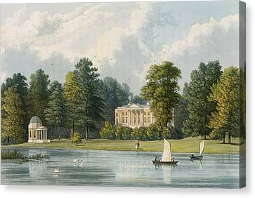 Hampton House Canvas Print by William Westall