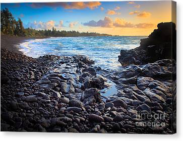 Hana Bay Sunrise Canvas Print