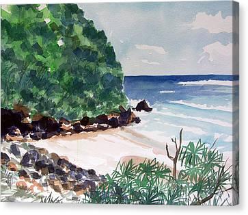 Hanakapiai Canvas Print by Jon Shepodd