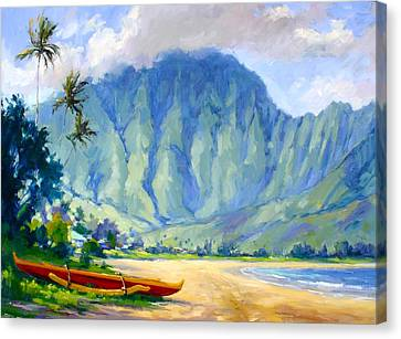 Giclee Trees Canvas Print - Hanalei Style by Jenifer Prince