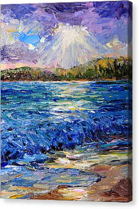 Hanalei Sunrise Canvas Print by Steven Boone