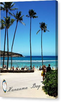 Canvas Print featuring the photograph Hanauma Bay by Mindy Bench