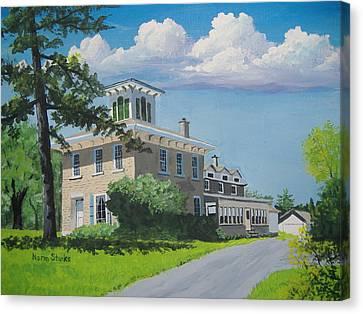 Hanchett-bartlett Homestead Canvas Print