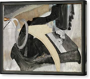 Hand Sewing Machine Canvas Print by Arthur Dove