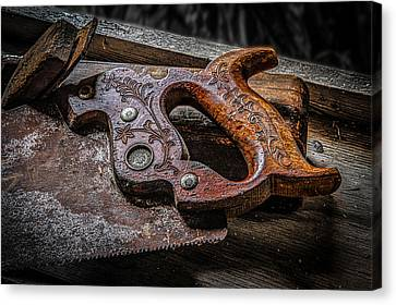Handle On The Saw  Canvas Print by Ray Congrove