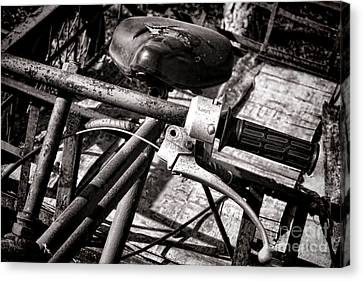 Handlebar Canvas Print by Olivier Le Queinec
